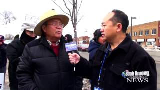 Suab Hmong News:  Vang Ying Protested at Lao Family Community of Minnesota on 03/14/2014