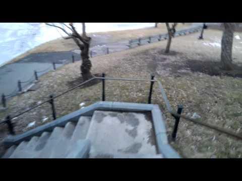Boston Public Garden Through Google Glass (Downtown)
