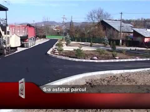 S-a asfaltat parcul