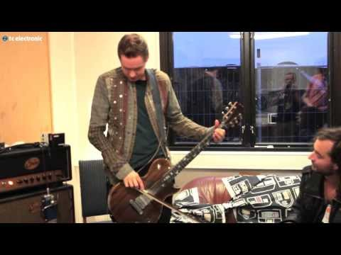 "Jónsi creating ""Sigur Rós"" TonePrint for Hall of Fame reverb pedal"
