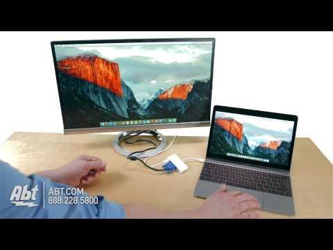 Apple USB-C VGA Multiport Adapter MJ1L2AM/A - Overview