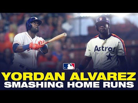 Video: Astros' Yordan Alvarez OBLITERATING baseballs