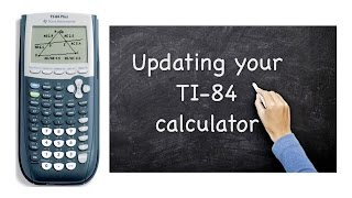 If you have an older TI-84 calculator, here is an easy to follow video on how to install the latest (as of 2011) operating system. You get fractions! any base logs, and other goodies that make it work better.