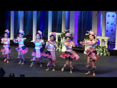 Nkauj Hmoob Ntshiab Si - Dance Competition-Hmong MN RiverCentre New Year 2017-2018 (видео)