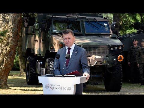 Święto DG RSZ - wystąpienie ministra M. Błaszczaka