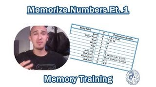 How To Memorize Numbers Part 1 | Memory Training | USA Memory Championship