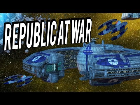 CIS VS REPUBLIC - Star Wars Republic At War Multiplayer