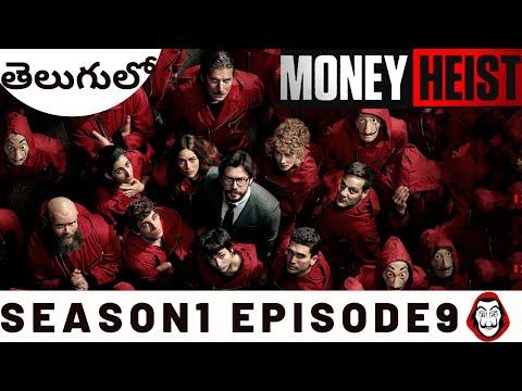 Money Heist Telugu  Season1 Episode9  Money Heist Explained in Telugu  LaCasa De Papel Spanish Drama