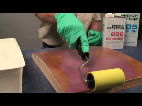Barrier Coating with WEST SYSTEM Epoxy (видео)