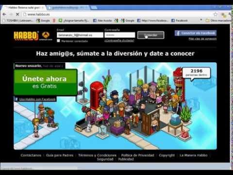 COMO OBTENER CREDITOS GRATIS EN HABBO 2012 ¡NUEVO!