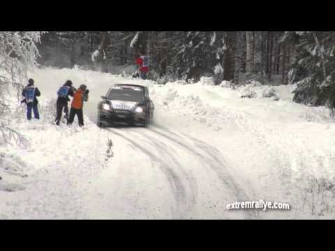 WRC Rally Sweden 2013 Shakedown