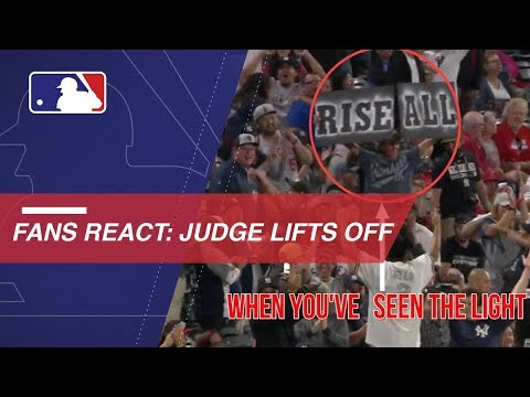 Video: Tracking reactions to Judge's heroics