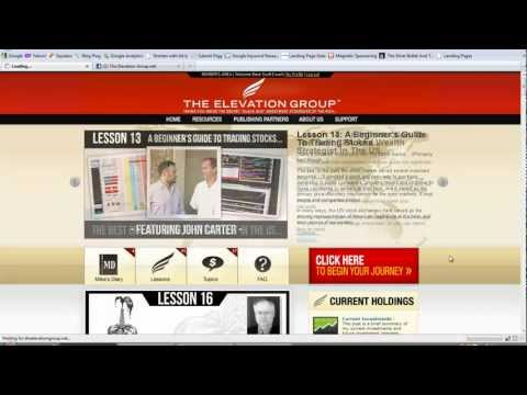 Elevation Group Training – How To Navigate the Back Office of The Elevation Group