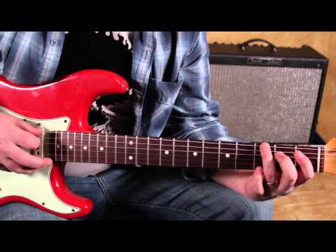 Blues Inspired Rock – Blues and Rock Guitar Lessons – Inspired by Black Keys, White Stripes….