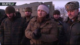 В Грозном группа во главе с Кадыровым уничтожила семерых боевиков