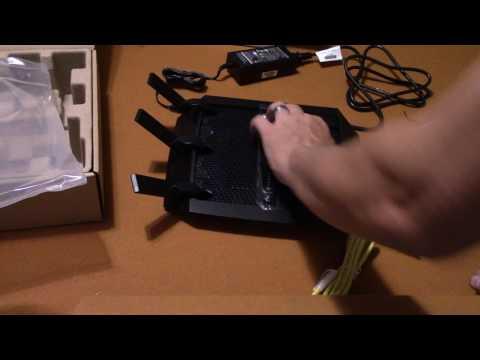 NETGEAR Nighthawk X6 AC3200 Tri-Band Gigabit WiFi Router (R8000) unboxed by Phillip20