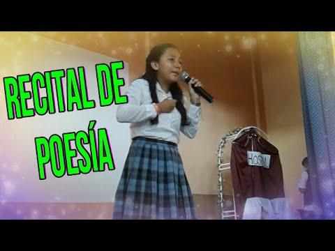 Poemas cortos - Recital de Poemas de Autores Salvadoreños
