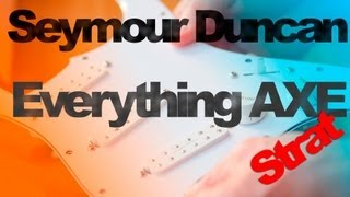 This is an unboxing for the Seymour Duncan Everthing Axe Pickguard For Strat. In this video I give you an upclose and personal view of the front and back of ...