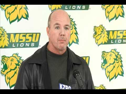 MSSU Head Football Coach Daryl Day Introductory Press Conference