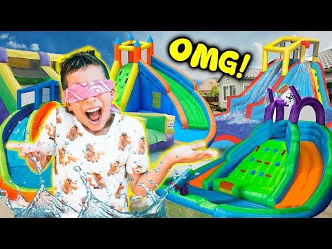 Videos de amor - WE TURNED OUR BACKYARD INTO A REAL WATERPARK!! **BIRTHDAY SURPRISE**  The Royalty Family