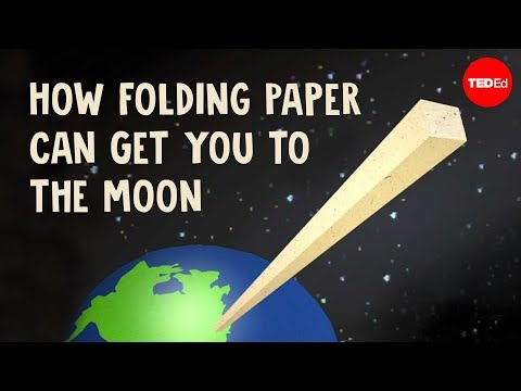 Exponential Growth: How Folding Paper Can Get You to the Moon