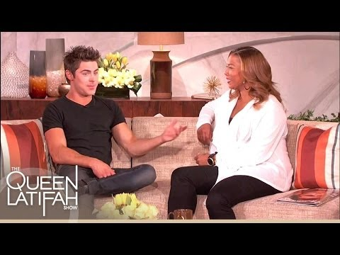 Zac Efron on Being Awe-Struck Meeting Queen Latifah on 'Hairspray' | The Queen Latifah Show