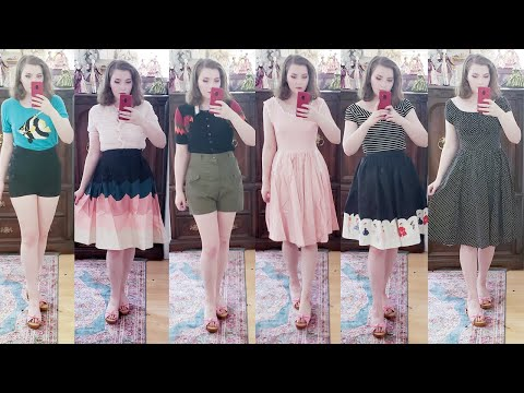 Unique Vintage Try On Haul & Review! | Summer Clothing Haul