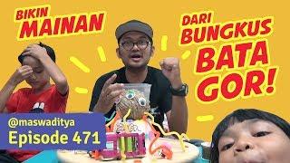 Video Bikin Mainan dari Bungkus Batagor! Ada Aja Idenya! MP3, 3GP, MP4, WEBM, AVI, FLV Juni 2019