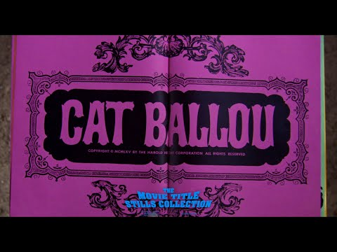 Cat Ballou (1965) title sequence