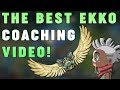 Download Lagu Maxske's Ekko | THE BEST EKKO COACHING VIDEO! I GET COACHED! Mp3 Free