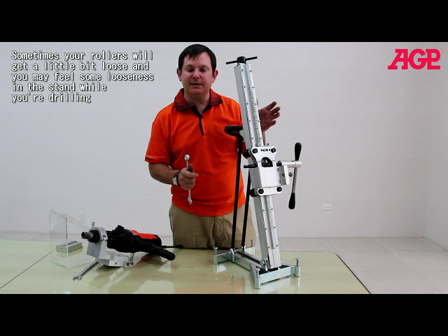 AGP S250 Diamond Core Drill Stand – Introduction & Operation