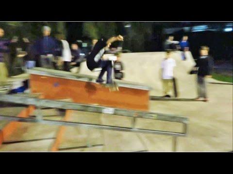 Skateboarding - Schaeffer McLean  - Winchester Skatepark