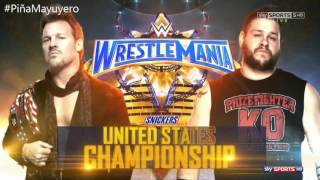 WWE WrestleMania 33 Match Card Full