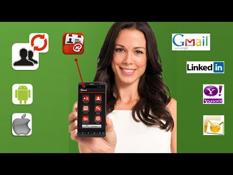 Video of Address Book & Contacts Sync