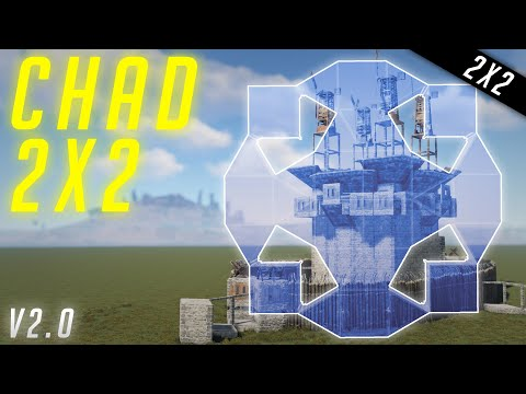 The BEST 2x2 | PVP-CHAD 2x2 (Bunker was *PATCHED*) | v2.0 | Base Building 2020 | Rust