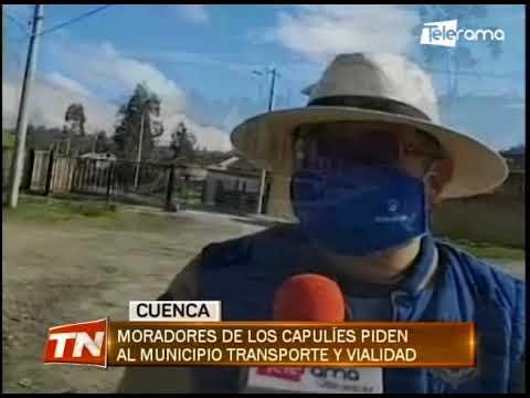 Moradores de los capulíes piden al municipio transporte  y vialidad