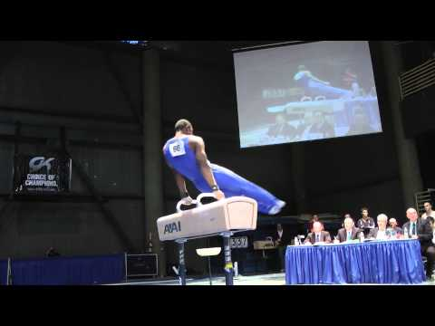 John Orozco - Pommel Horse - 2012 Winter Cup Finals