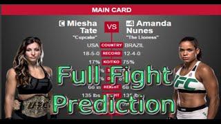 Nonton UFC 200: MIESHA TATE VS AMANDA NUNES PREDICTION FULL FIGHT PREVIEW Film Subtitle Indonesia Streaming Movie Download