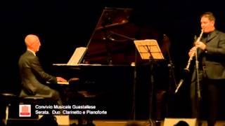 Duo Clarinetto e Pianoforte – 25/01/2014