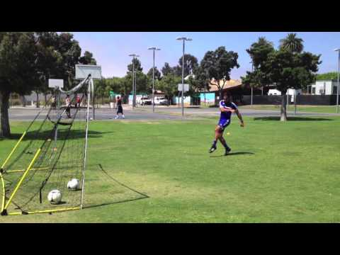 Soccer Training: Step by Step Instructions on How to Hit a Half Volley