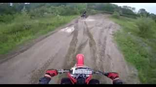 9. Crf 450R 2008 and Can Am ds450 xmx 2011