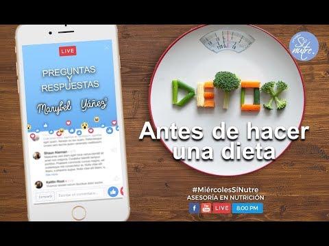 Dieta para bajar de peso - ¿Por qué hacer un detox antes de iniciar una dieta?
