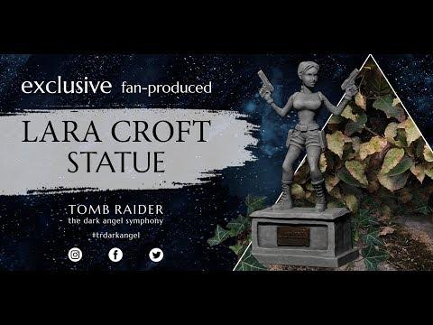 Scène Lara Croft Statue commémorative Neuf en boite Tomb Raider figurine