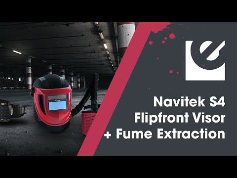 Weltek Navitek S4 Air Fed Flip Front Welding System Video