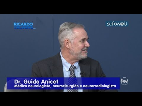 Ricardo Orlandini entrevista o Dr. Guido Anicet, Médico neurologista, neurocirurgião e neurorradiologista, abordando a Doença de Alzheimer, doença neurodegenerativa crônica e a forma mais comum de demência.