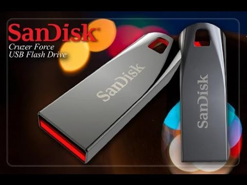 Sandisk Cruzer Force 16GB USB Flash Drive (review & speed test)
