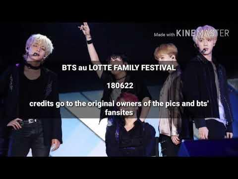 {OMG!!} LES NOUVELLES COULEURS DE CHEVEUX DE BTS ! (Lotte Family Festival)