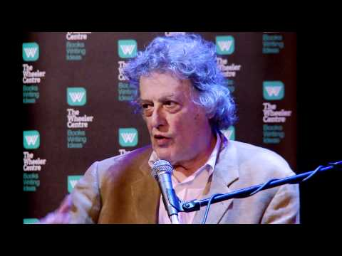 Stoppard - Watch the full hour-long interview at our website: http://wheelercentre.com/videos/video/tom-stoppard/ In December 2011, celebrated British playwright Sir To...
