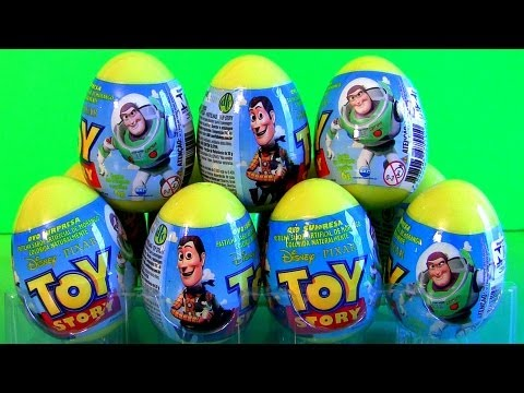 toys - From disney pixar toy story, these are surprise eggs with a toy-story toy inside from dtc-toys. Quite similar to kinder eggs, but instead of chocolate, it co...