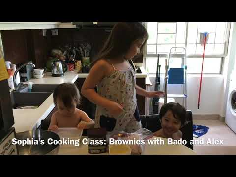 How to bake brownies